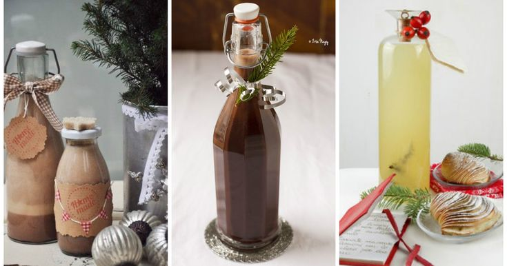 10 liquori di Natale fatti in casa