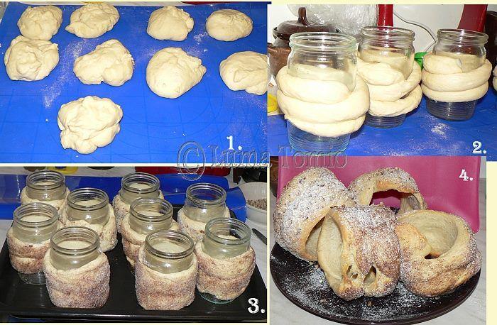 Můj domácí TRDELNÍK - My home TRDELNIK  POTŘEBNÉ PŘÍSADY : Těsto: 350 g polohrubé mouky, 200 g hladké mouky, 80 g másla, 2 vejce, 3 lžíce moučkového cukru, 250 ml mléka, 20 g droždí, 2 lžíce rumu, špetka soli Drobenka: olej, skořicový cukr, vanilkový cukr, ořechy, kokos, kakao