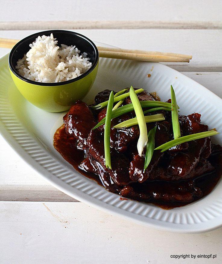 eintopf: wołowina po mongolsku