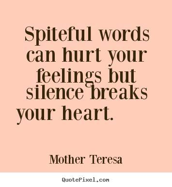 The silent treatment is one of the most effective tools in the abuser's toolkit.