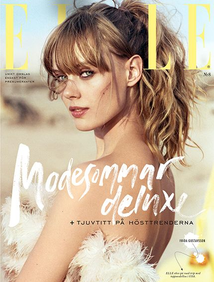 ELLE nr 8/2014 (prenumerationsomslaget)
