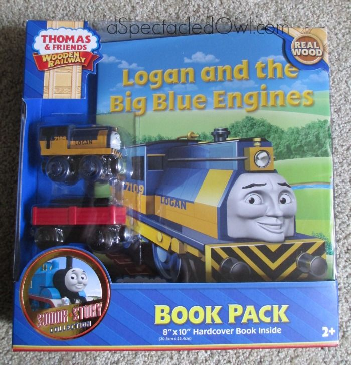 Big News from Thomas and Friends – Head on over to meet the new engine, Logan & see what else is coming to the new Thomas & Friends Wooden Railway website #ad