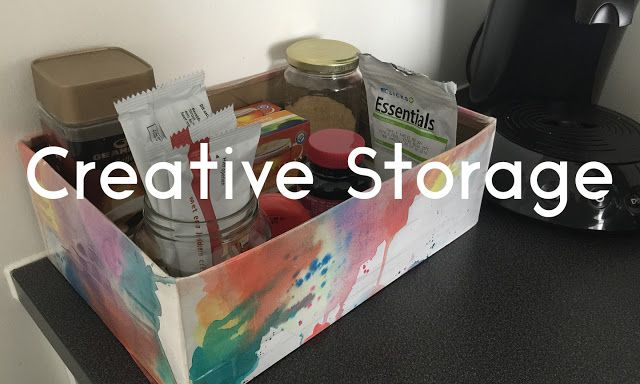 Colourful DIY Storage Boxes