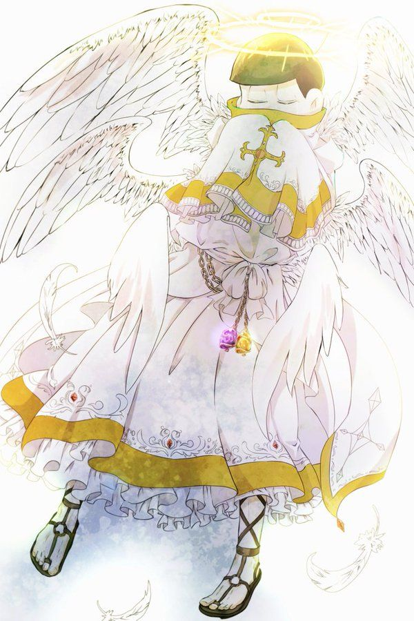 Osomatsu-san Jyushimatsu Angel!Jyushimatsu Etiqueta #宗教松 en Twitter