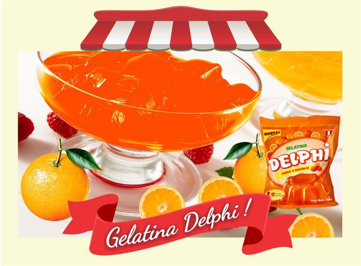 @GELATINASDELPHI #ProductosDelphi #LaGelatinadelPeru #Postresenpolvo  Este Verano disfruta del delicioso sabor naranja🍊 de Gelatinas Delphi 🍊  Distribución y pedidos a nivel nacional - Producto Peruano  ventas@productosdelphi.com  http://www.productosdelphi.com  Teléfonos fijo 576-4892 móvil 999-090-503