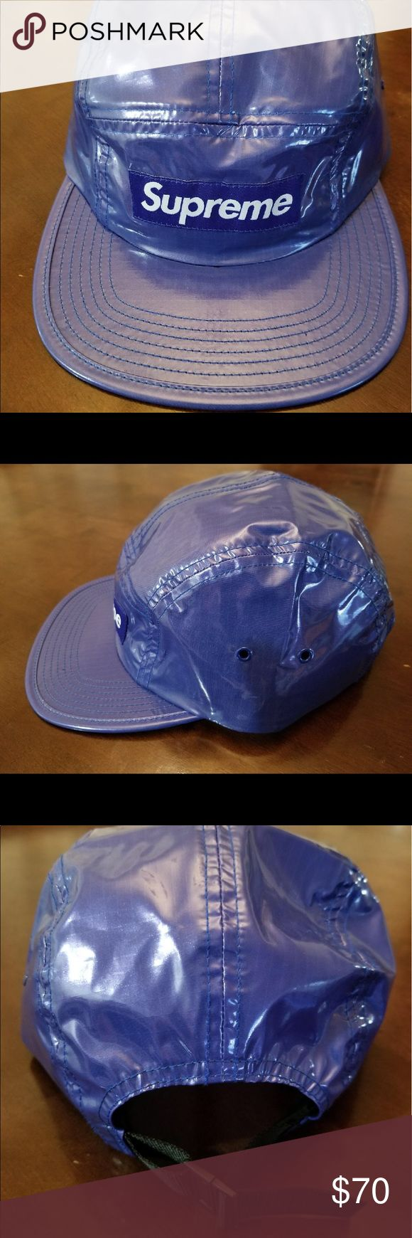 Supreme 5 Panel Hat 10/10 condition.  Bought from the Supreme store in LA. Supreme Accessories Hats