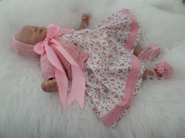 Hand made reborn doll clothing created by BABY BANTER  member Threads for Tiny Tots