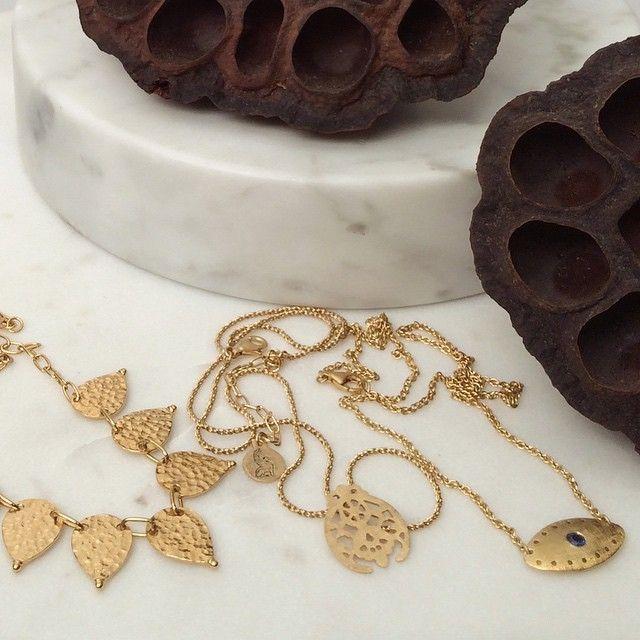 Gold treasures online now at TEMPLEOFTHESUN.COM.AU xx #templeofthesunjewellery #boho #gold #byronbay #jewellery #necklace