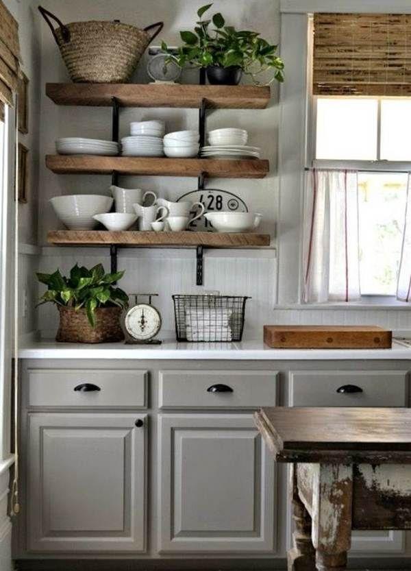Mueble de cocina pintado en blanco