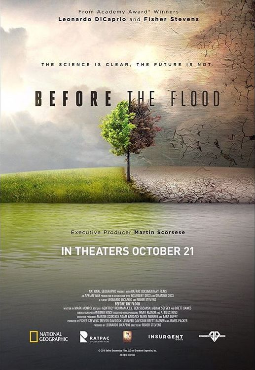 Looking forward to screening #BeforeTheFlood today at #SXSL and sitting down with @barackobama and Katharine Hayhoe to discuss #climatechange.