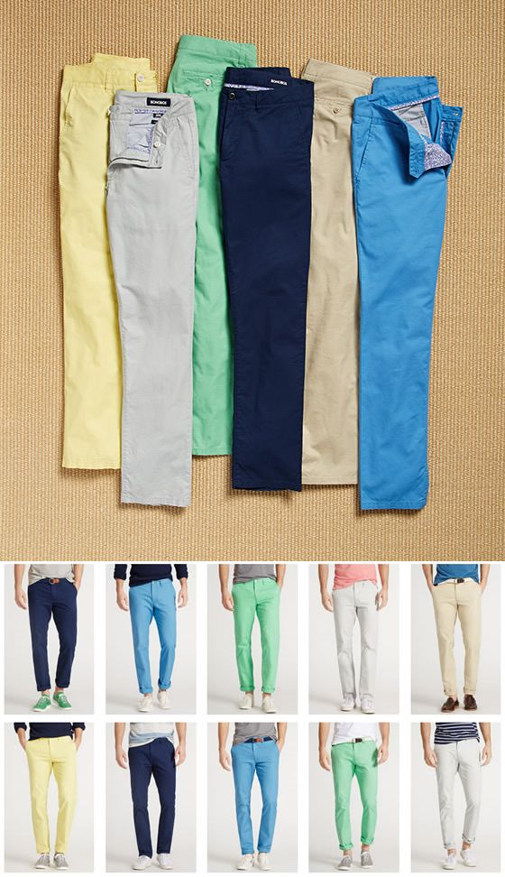 Bonobos summer weight men's chinos. Stay cool in these breathable and stylish men's pants!