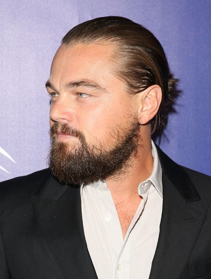 Leonardo DiCaprio I actually really miss his beard it was cute