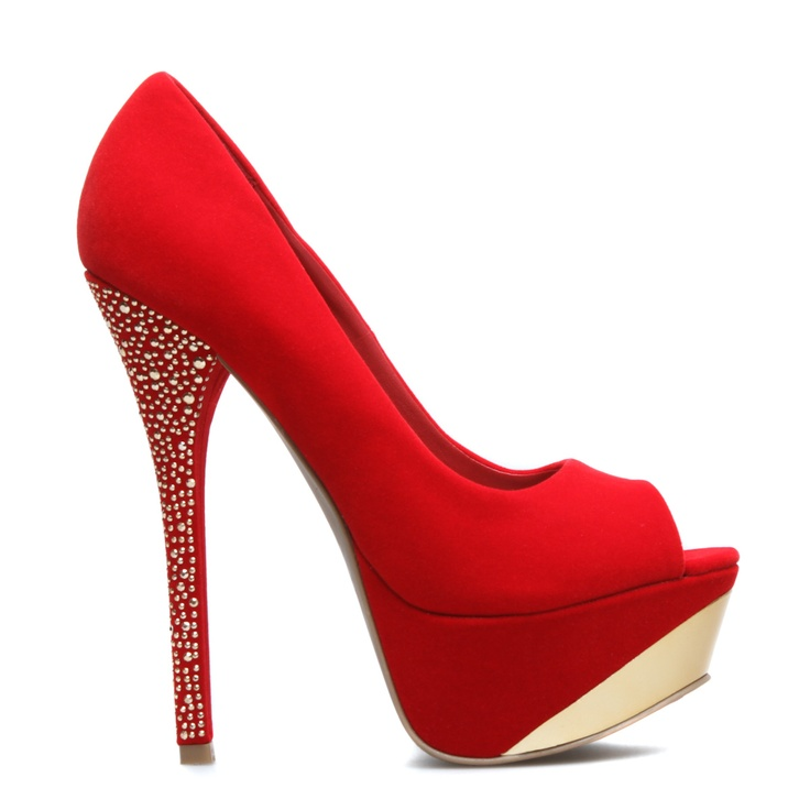 Holiday pump love them! Find this Pin and more on Red High Heels ...