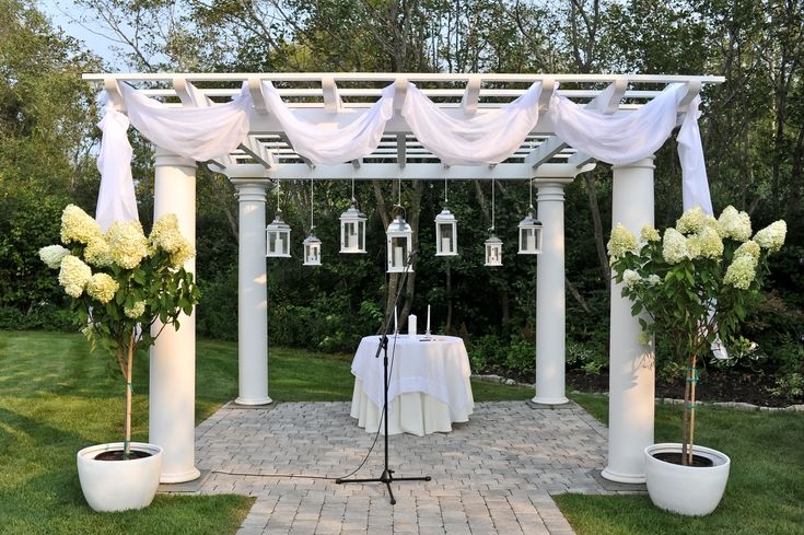 17 best images about becca wedding ideas on pinterest for Arbor wedding decoration ideas