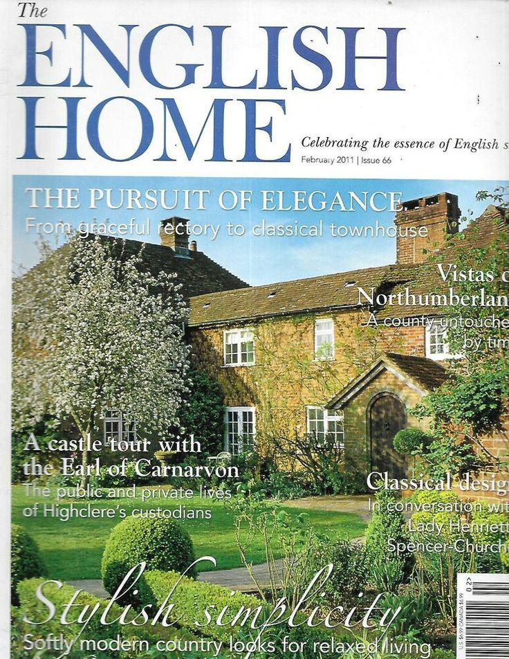 The English Home Magazine From Rectory To Classical Townhouse Window Ideas 2011 House And Home Magazine English House Townhouse