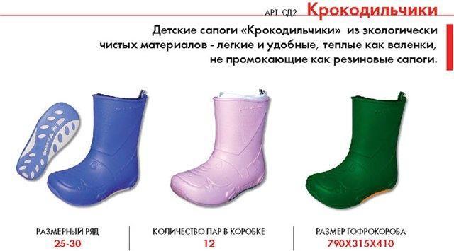 Детская обувь из эва украина