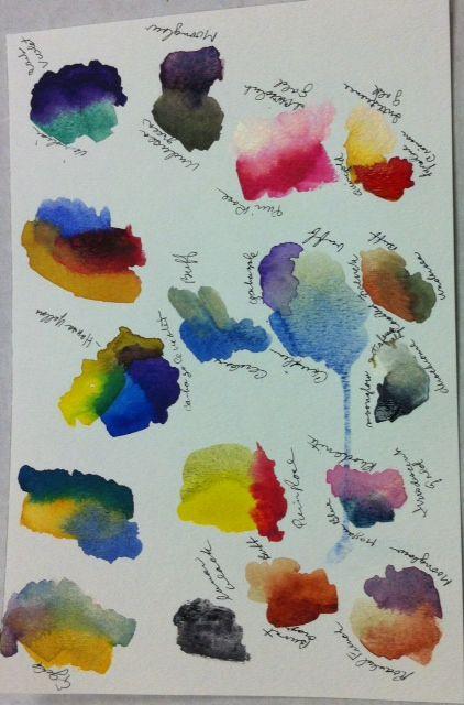daniel smith watercolor - Sök på Google