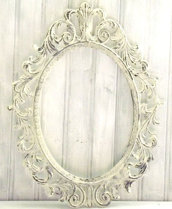 MBSb Ornate Picture Frame Oval Frame Baroque by LetaPearlEmporium