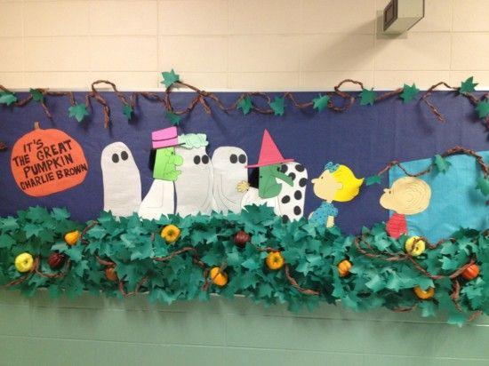Halloween Classroom Door Decor ~ Fall bulletin board idea halloween themed activities