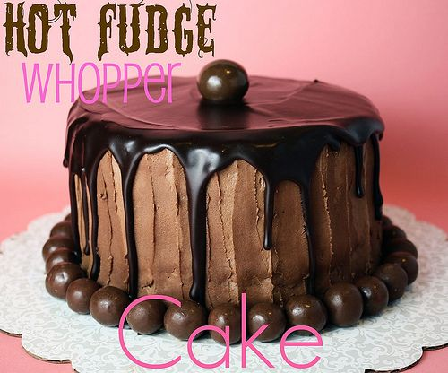 Hot Fudge Whopper Cake