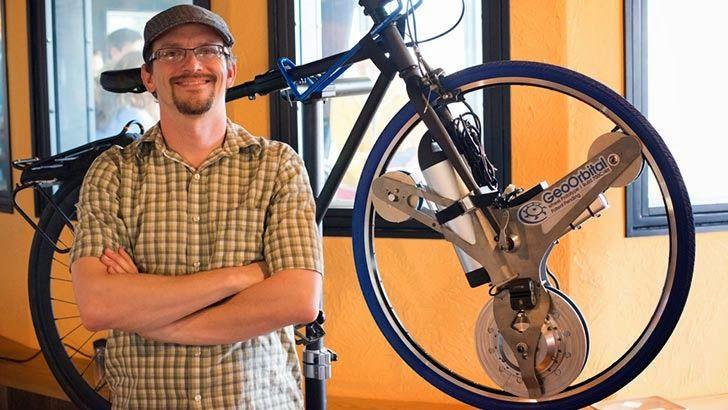 seeming verb: geo-orbital electric bike wheel