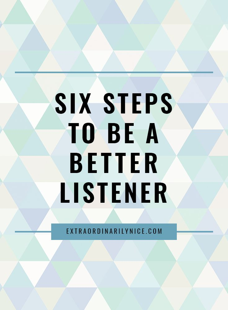 How to be a better listener! Improve your listening skills with these tips. Active listening, empathetic listening, be heard.