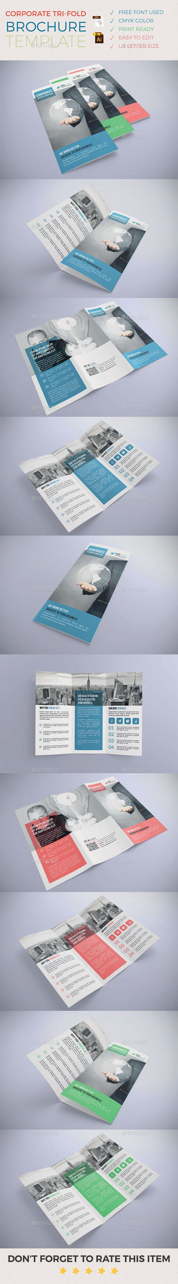 The Best Tri Fold Brochure Template Ideas On Pinterest Tri - 85x11 tri fold brochure template