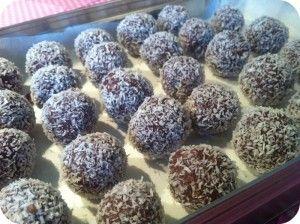 Lækre LCHF chokoladetrøfler