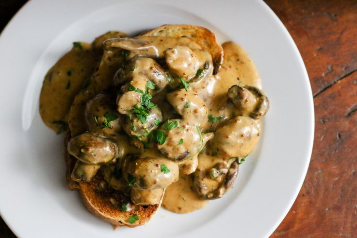 Deviled Mushrooms on Toast | Recipe | Single men ...