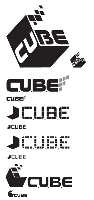 AION'S CUBE LOGO COMPS by Ryan Deyo, via Behance