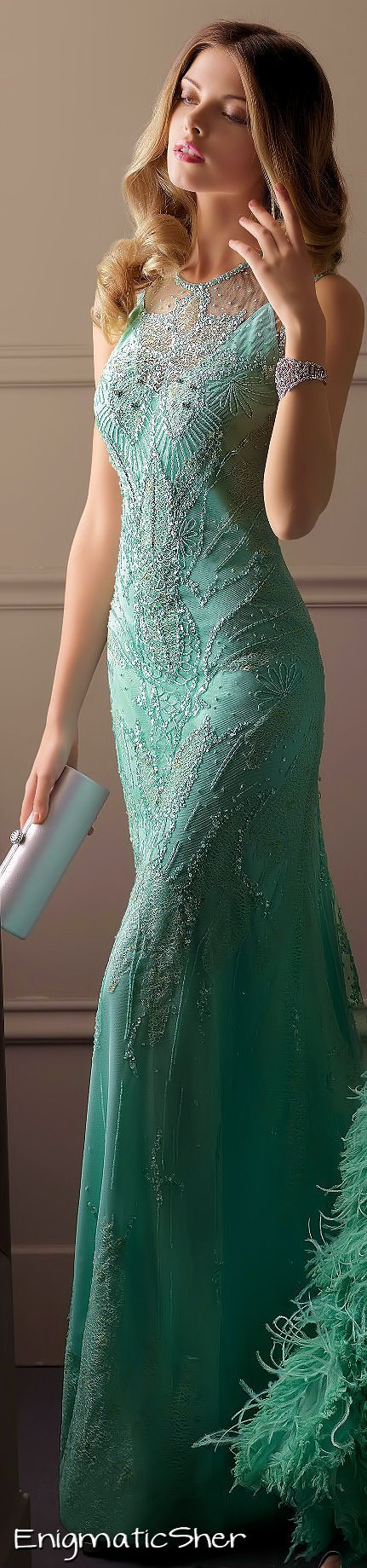 Turquoise blue cocktail or reception gown with sequin embroidery | Weddingz.in | India's Largest Wedding Company | Wedding Venues, Vendors and Inspiration