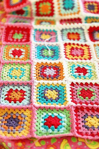 Love the granny squares