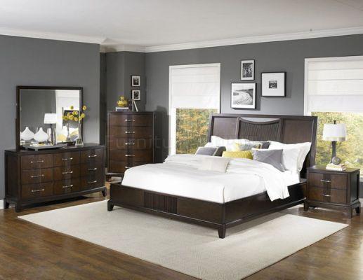 Brown Furniture Bedroom, Espresso Color Furniture