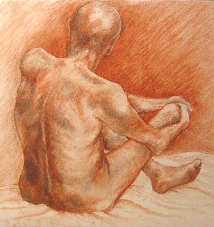 Pastel, chalk and charcoal sketch 2006