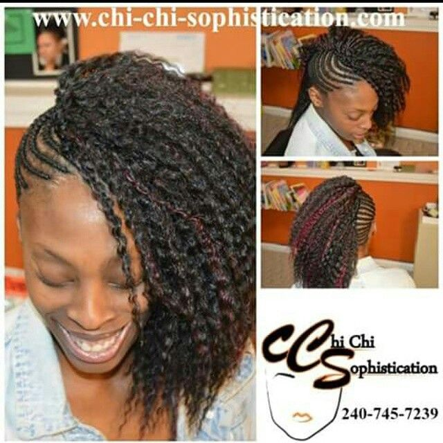 adult hairstyles chi