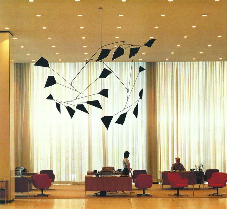 Mobile by artist Alexander Calder, Untitled, 1959