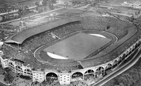 1938 F.A. Cup Final Preston North End v Huddersfield Town (1-0) at Wembley.  This final - the first to be broadcast on TV - was heading towards a replay when Preston were awarded a spot-kick in the 119th minute. George Mutch tucked away the winner - moments after commentator Thomas Woodrooffe had said that 'if there's a goal scored now, I'll eat my hat'.