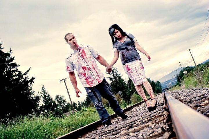 Zombie Themed Photo Shoot