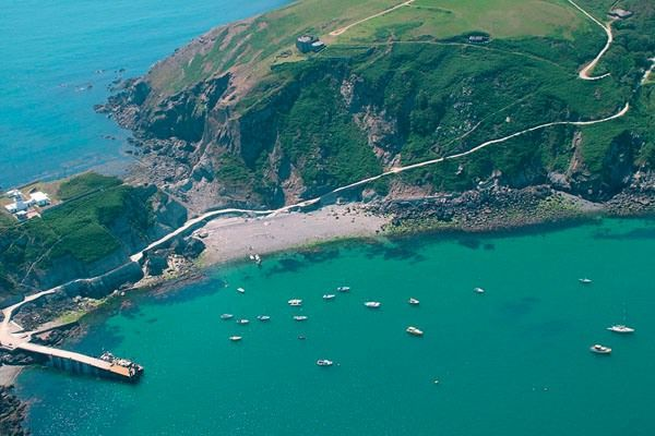 Lundy Island - small with some self-catering incl lighthouse. A real break from city life.