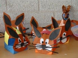 free easter bunny craft idea for kids (7)