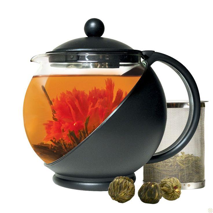 206 best Flowering Tea / Blooming Tea images on Pinterest | Flower ...