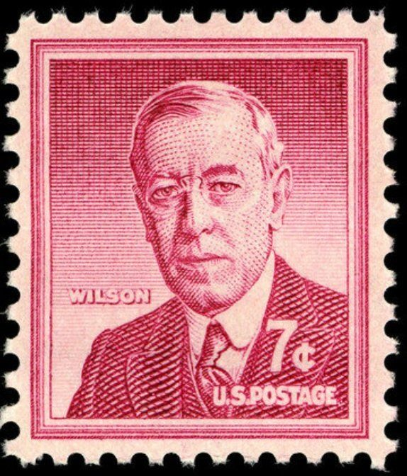 VINTAGE 1959 23rd President of the United States Benjamin Harrison US Stamp MINT