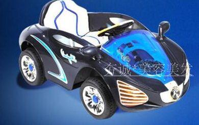 Children's haircut chair. Children barber chair. Children's electric cars remote control four-wheel car chair.