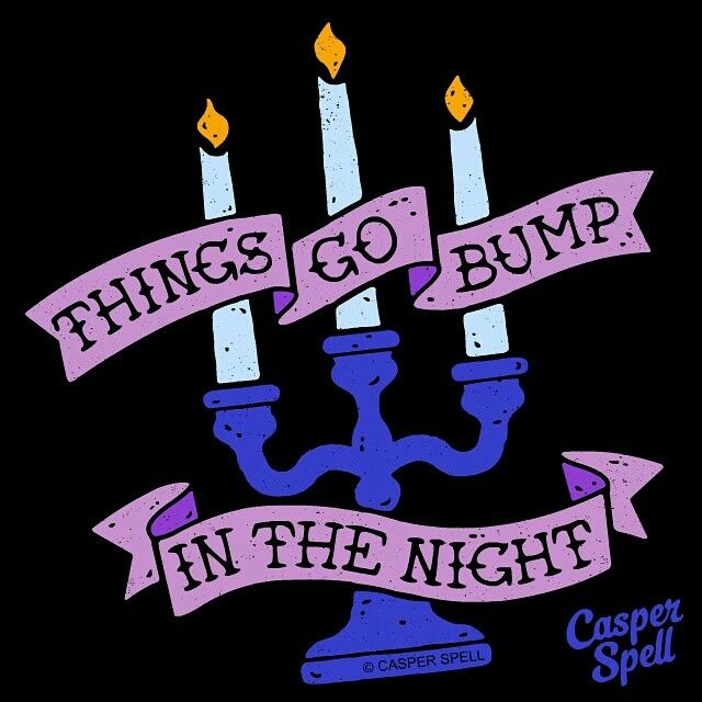 Haunted Spooky Dark Macabre Candelabra Candles Graphic Design Hand Drawn Art Illustration Tattoo Vintage Retro Casper Spell Magic