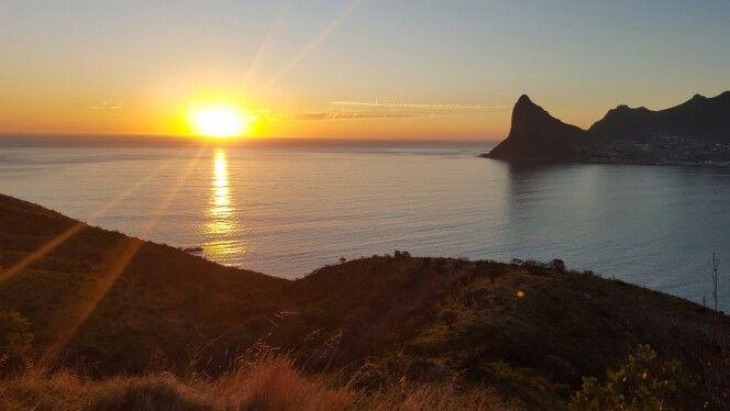 Hout  Bay....stunning sundowner!