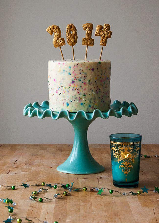 2014 Confetti Cake!