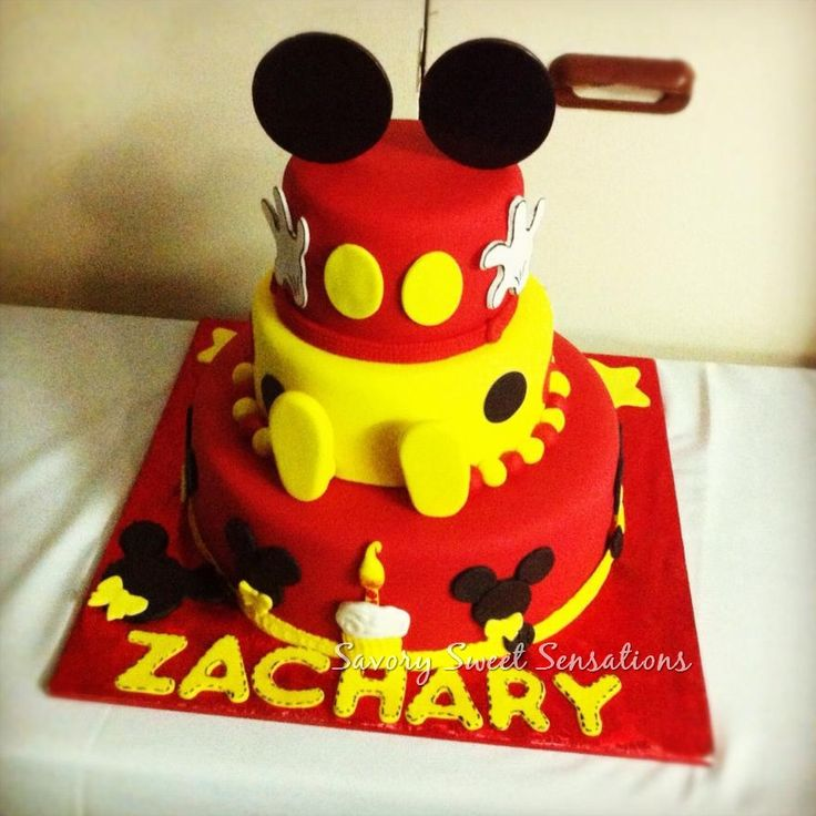 mickey mouse cake 17 best images about mickey mouse cakes on 5876