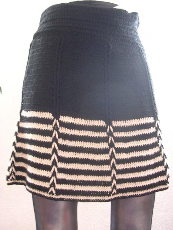 Pollera Crochet.