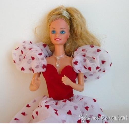 1980's Valentine Barbie
