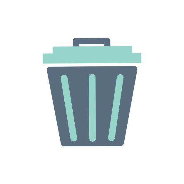 Download Illustration Of Trash Bin Icon For Free Trash Bins Trash Icon